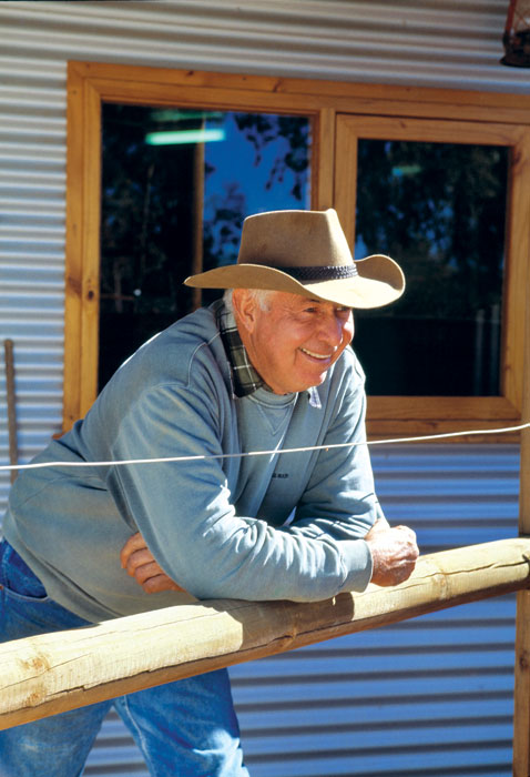 Ian Conway at Kings Canyon. Image by Tourism NT