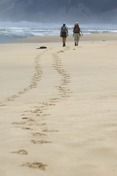 Meander along the beach. Image by Bothfeet Walking Tours