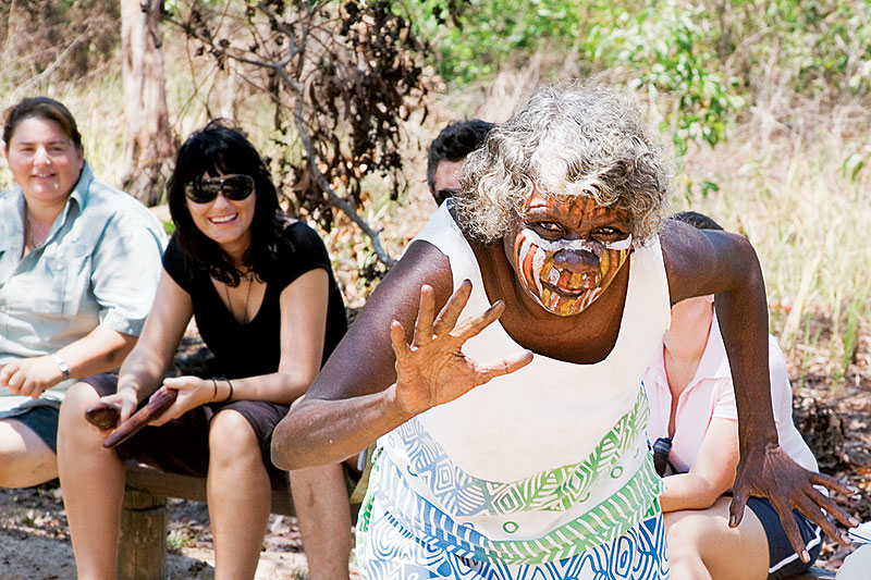 Tiwi Tea Ladies. Image by Grenville Turner