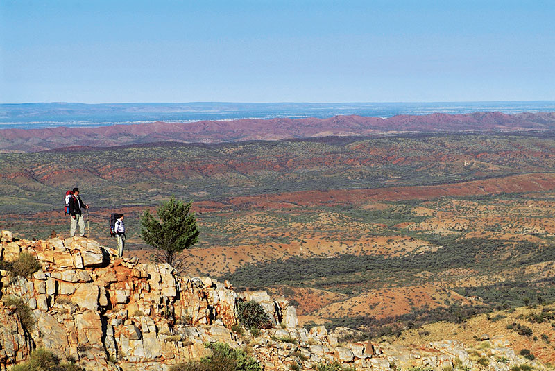 Larapinta Trail. image by Tourism NT