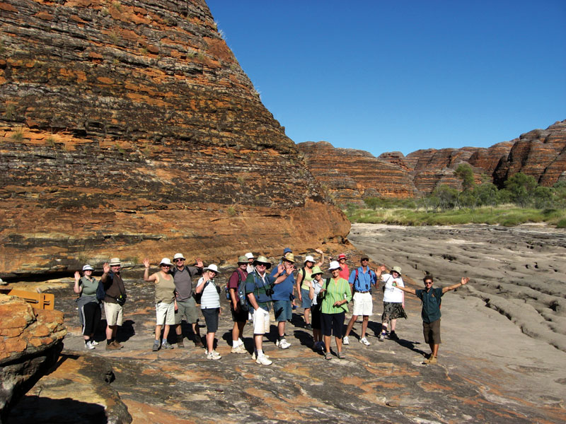 Up close to the Bungle Bungles. Image by Kimberley Wild Expeditions