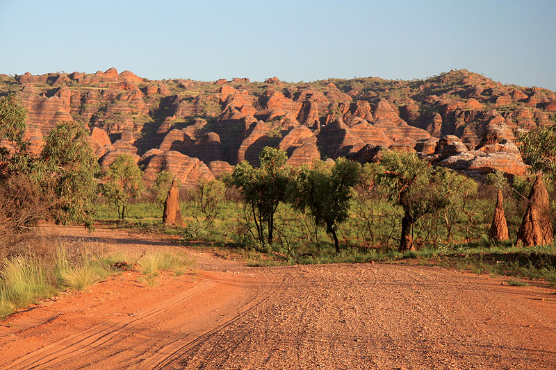 Road to the Bungles. Image by Kimberley Wild Expeditions
