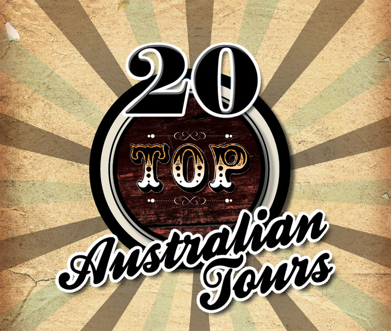 Welcome to AT's Top 20 Australian Tours.
