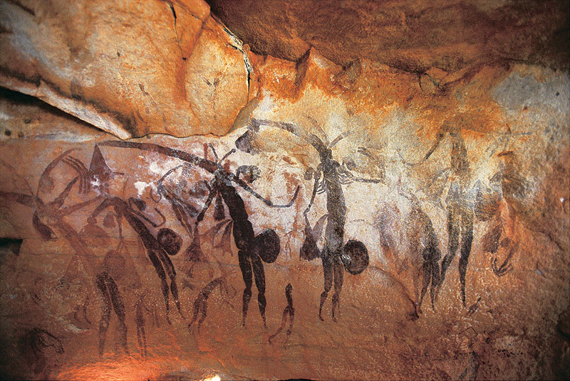 An example of some ancient Gwion Gwion rock art. Image by Tourism WA