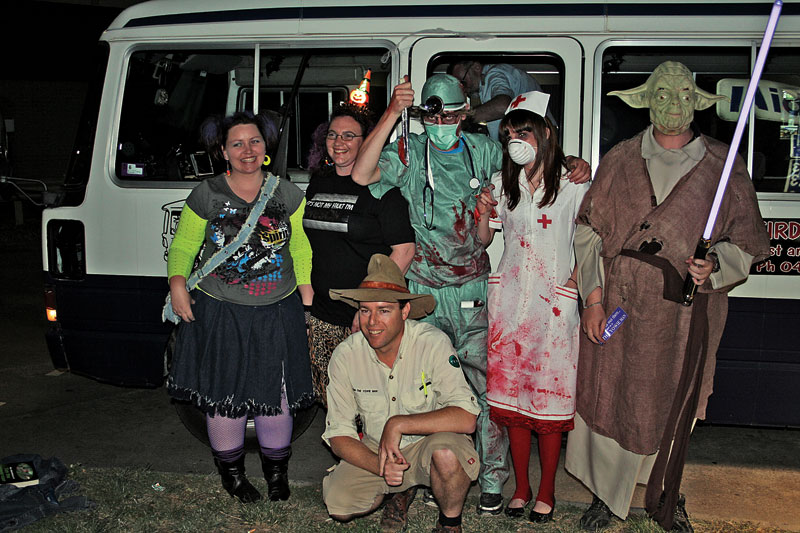 We warned you... Weird Canberra Ghost and History Tour. Image by Mark Flynn