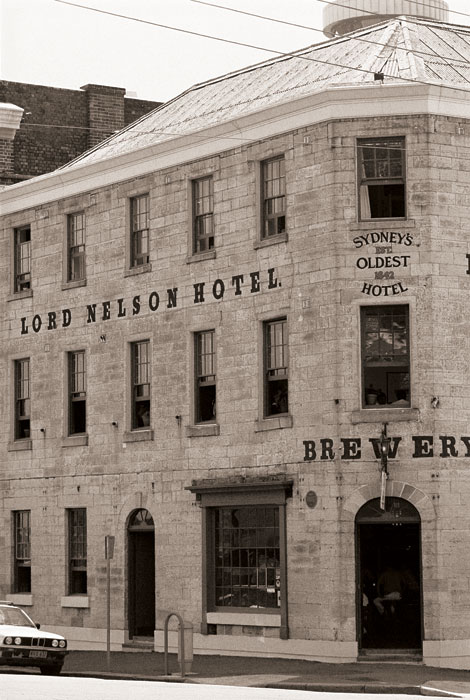 Lord Nelson Hotel. Image by Tourism NSW
