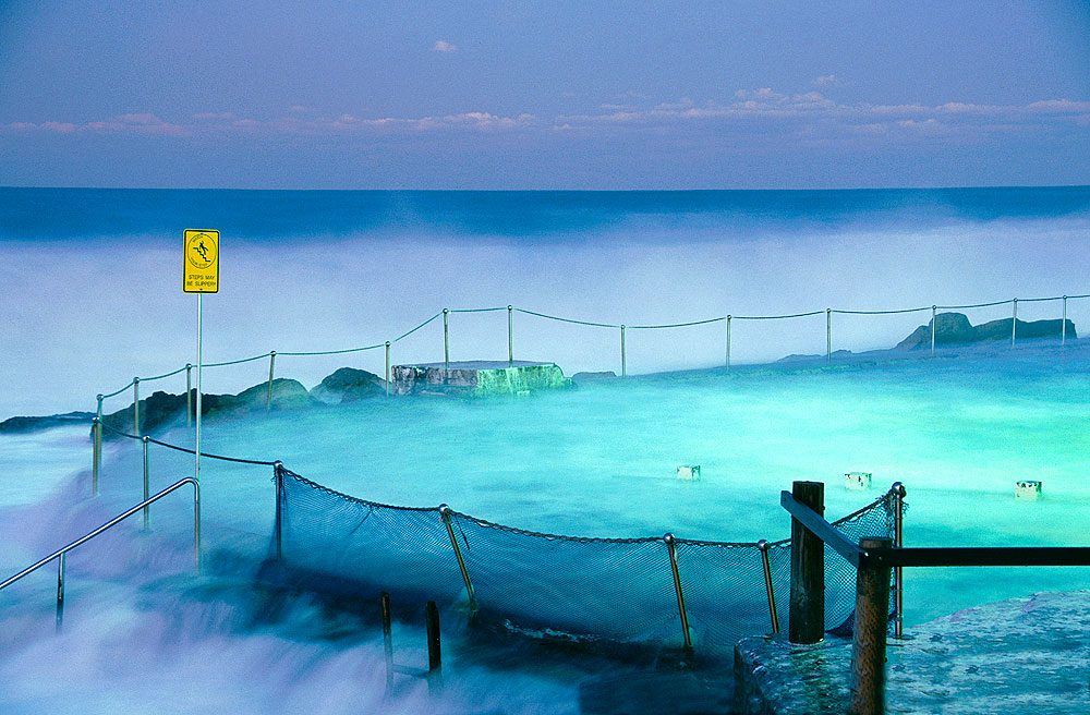 Bronte Pool on Film, by AT Reader Andrea Francolini