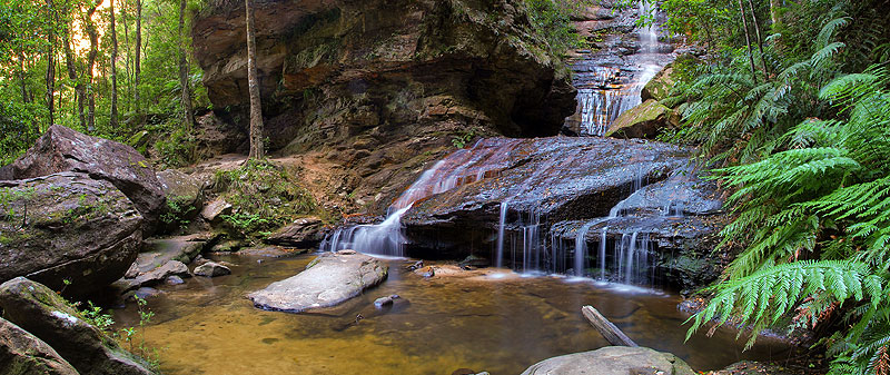 AT Reader Shane Smith and his wife trekked to the mesmerising Empress Falls in the Blue Mountains, NSW.