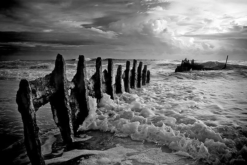 The SS Dicky wreck on the Sunshine Coast, image captured by AT Reader Matt Nash Arnold