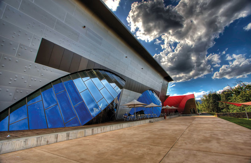 Canberra's National Museum -- image courtesy of Sladjan Sam Ilic (Stage 88 Photography)