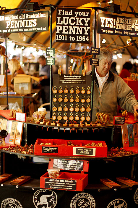 Pick your penny at the weekly markets -- image courtesy of Liz Schaffer