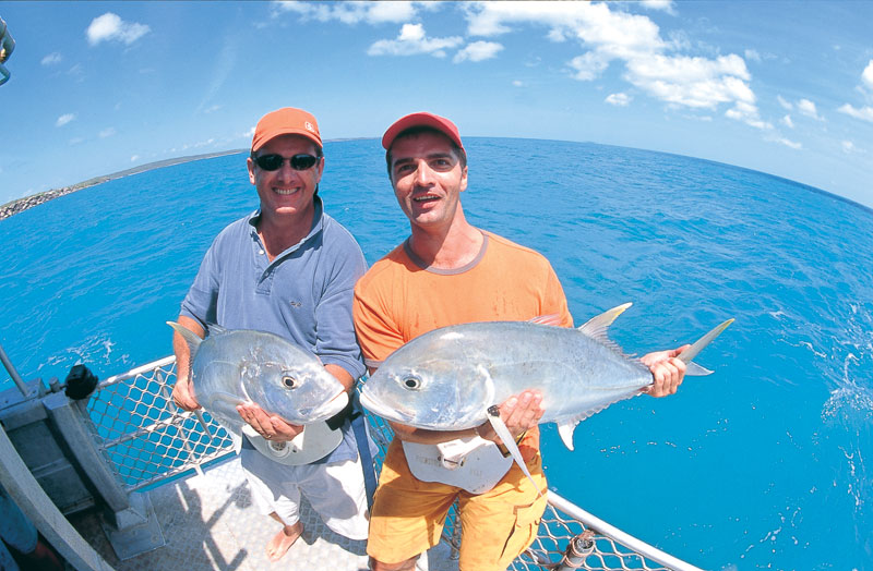 Deep Sea fishing in the Top End. Image by Tourism NT