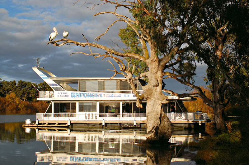 Unforgettable Houseboats of Mannum. Image by Unforgettable Houseboats