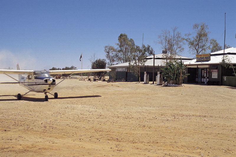 Downtown Innamincka. Image by Tourism SA
