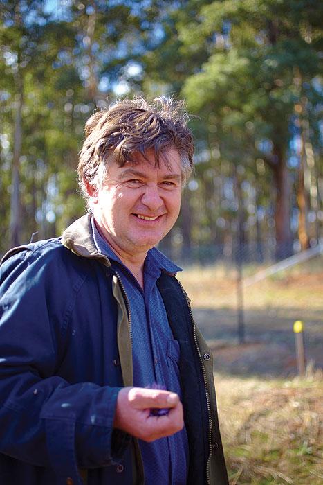 Saffron guru Michael Nuck. Image by Ewen Bell