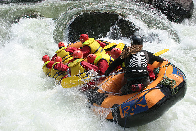 Mancation: White water rafting carnage (Image by RnR Cairns).