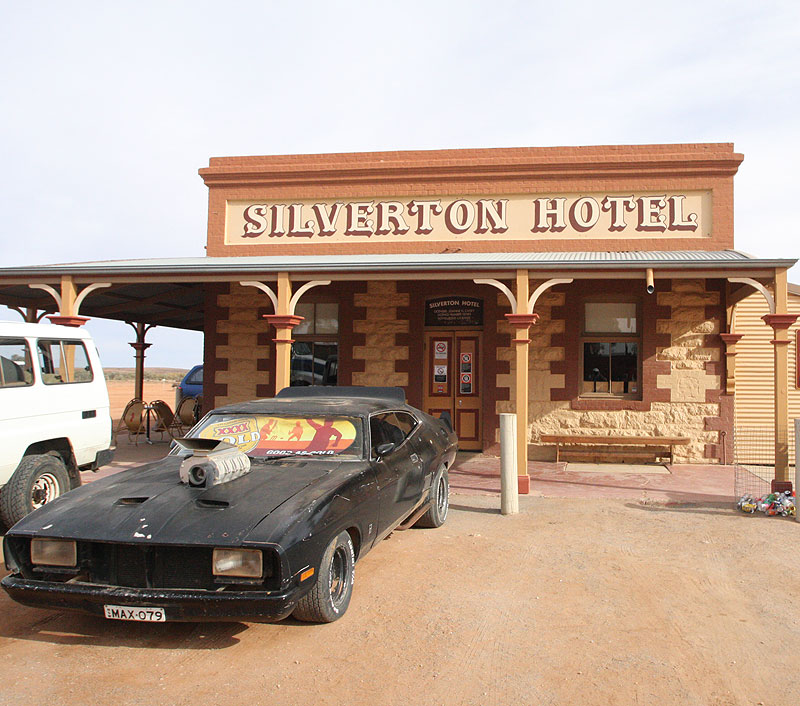 The iconic Silverton Hotel. Image by Craig Roberts