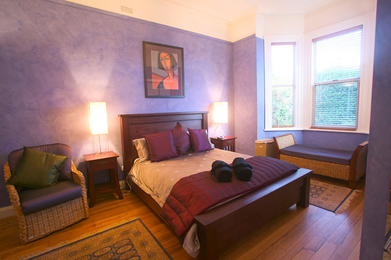 A bedroom at Kinvara House.
