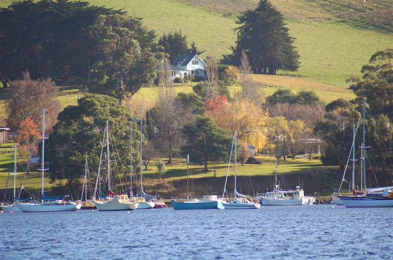Fair Light Tasmania is all about lazy days spent in charming, unfussy, scenic splendour.