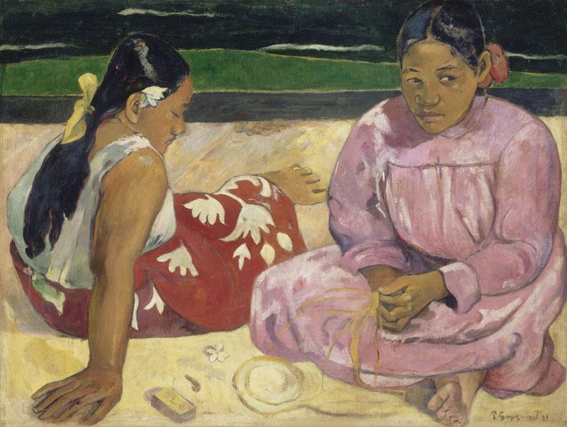 Paul Gauguin Tahitian women  1891 Musée d'Orsay, Paris © RMN (Musée d'Orsay) / Hervé Lewandowski