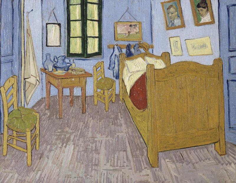 Vincent van Gogh Van Gogh's bedroom at Arles 1889 Musée d'Orsay, Paris © RMN (Musée d'Orsay) / Hervé Lewandowski