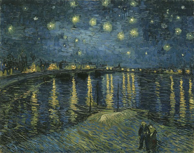 Vincent van Gogh Starry night 1888 Musée d'Orsay, Paris © RMN (Musée d'Orsay) / Hervé Lewandowski