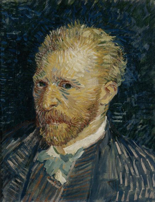 Vincent van Gogh  Portrait of the artist 1887 Musée d'Orsay, Paris © RMN (Musée d'Orsay) / Gérard Blot