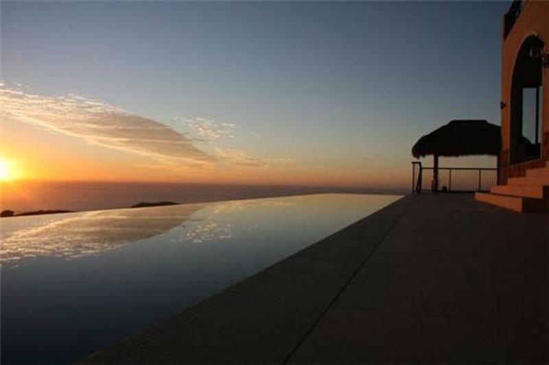 Sunset from Villa Vivante.