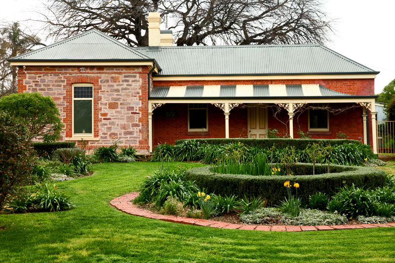 The Dumas family's now heritage-listed home on Druids Ave was painstakingly restored and re-opened by Dayne Bartlett in 2006.