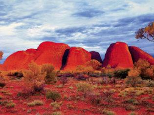 Sunset at Kata Tjuta Northern Territory (The Olgas)