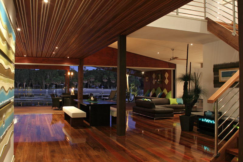 Stylish Istania on South Stradbroke. Image by Istania Beach House