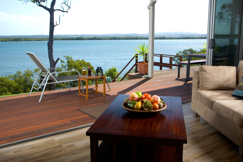 Sunset Waters is the only rental on the island with a private, purpose-built timber stairway directly down to the beach.