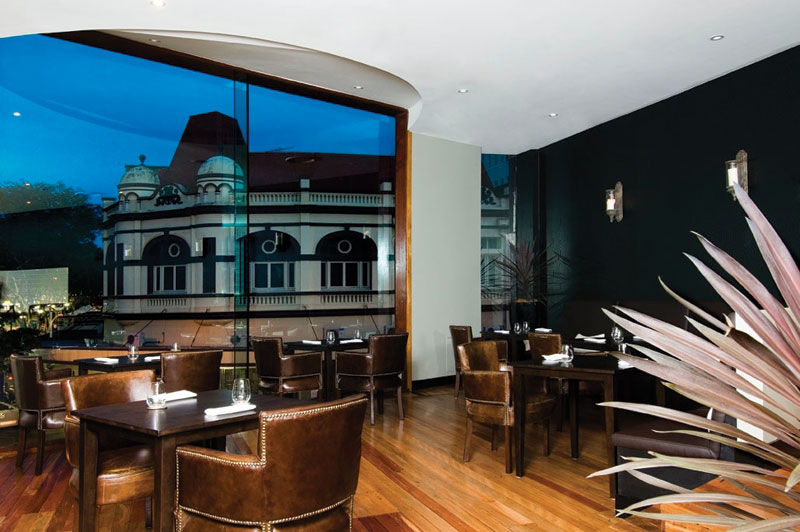 The Buffalo Club, the latest darling of the Brisbane dining scene.