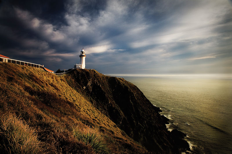Byron's iconic lighthouse