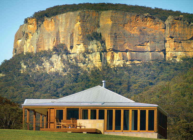 The brand new six star Emirates Wolgan Valley in the Blue Mountains