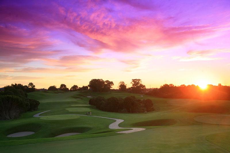 Sunrise at Joondalup Golf Resort