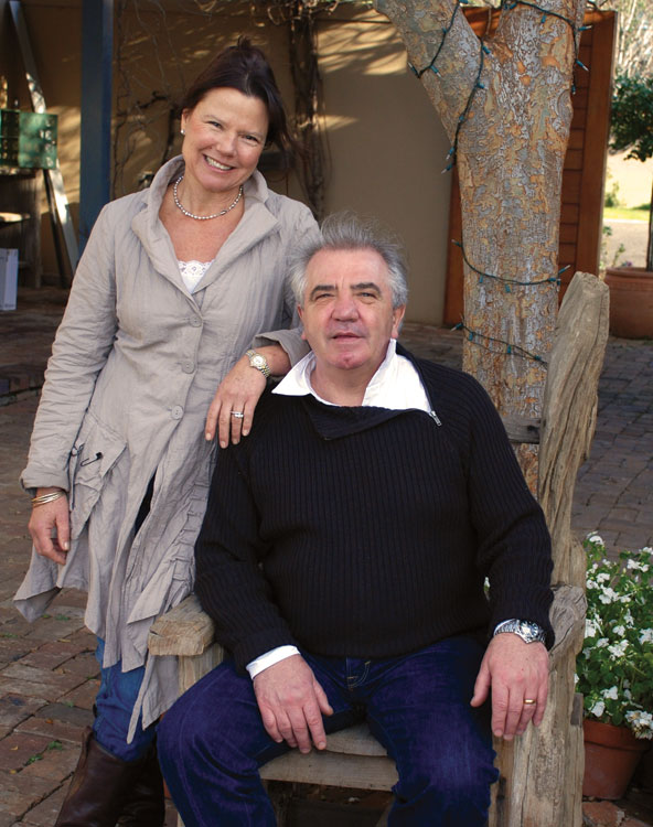 Bistro Molines is run by Hunter Valley legend Robert Molines and his wife Sally