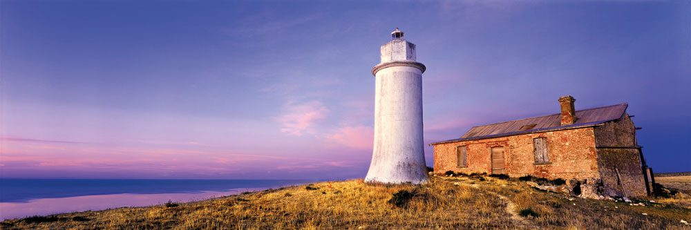Forgotten Light, the lovely inland lighthouse at Point Malcolm, SA