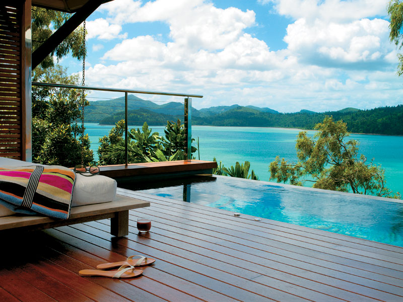 Quentin Long's pick, Qualia, on Hamilton Island, is what a rejuvenating and ultimately relaxing stay should be.