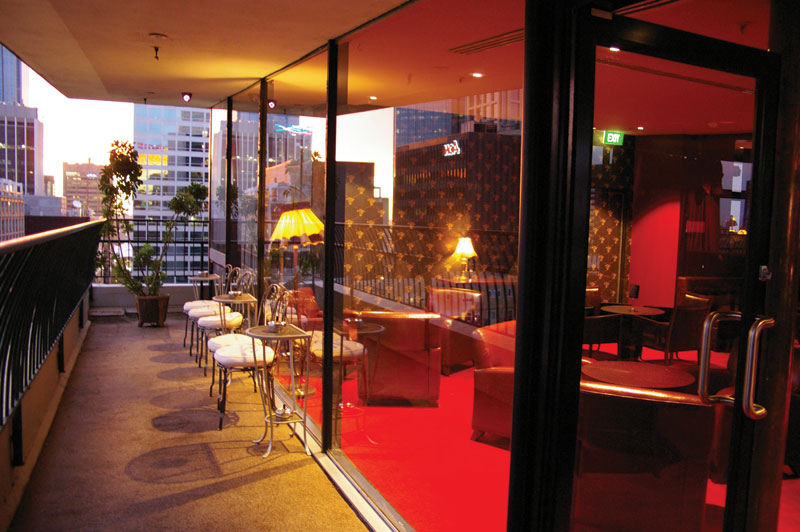 Pull out the sharpest suit in your closet and sink martinis on the balcony overlooking that sublime Melbourne view; you won't look out of place at the Blue Diamond.