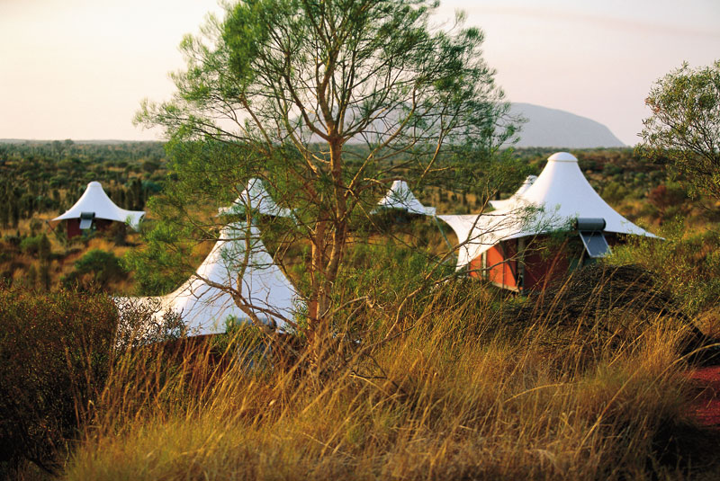 Longitude 131° stands alone as a luxury experience at Uluru