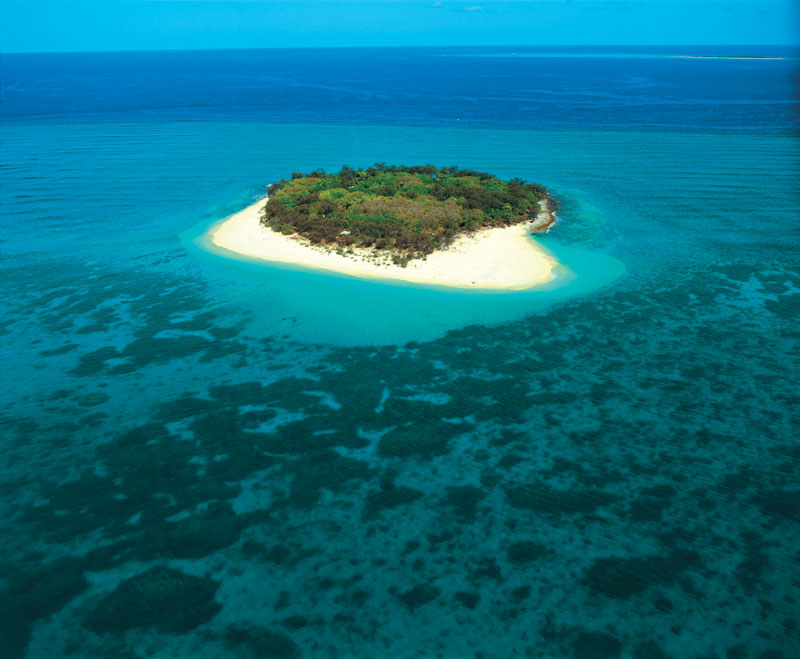 It doesn't get much more Robinson Crusoe than a stay on Wilson Island on the Great Barrier Reef northeast of Bundaberg