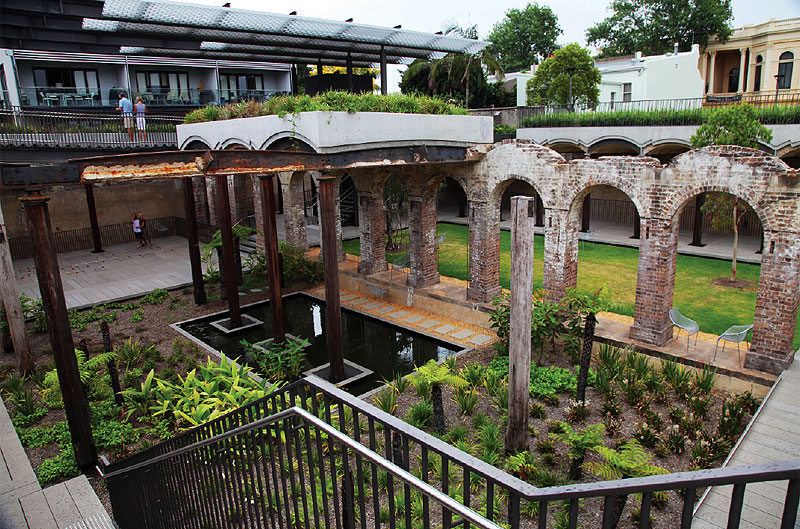 The very Romanesque Paddington Reservoir Gardens are a great place to relax and unwind.