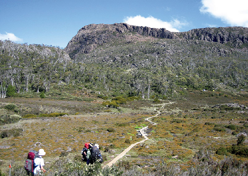 The sharply rising Walls of Jerusalem, the bright green of the grass, the trickling streams and fresh mountain air . . . all that and more will keep Melody Tan coming back to Tasmania time and time again.