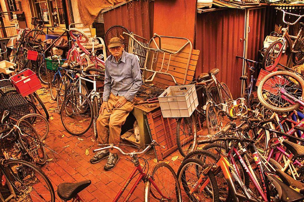 Mitch the Bike Man