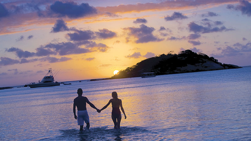 Drop dead romantic Lizard Island.