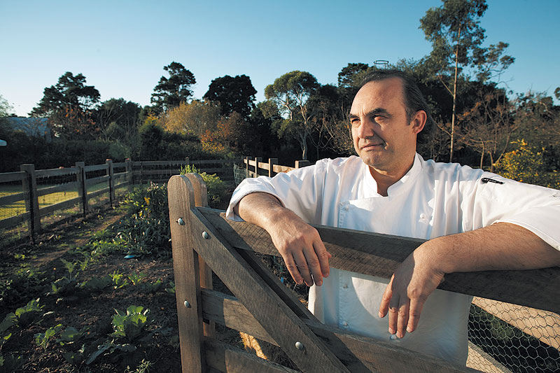 Stefano Manfredi is personally transforming the bushlands of Bouddi National Park into a budding culinary outpost.