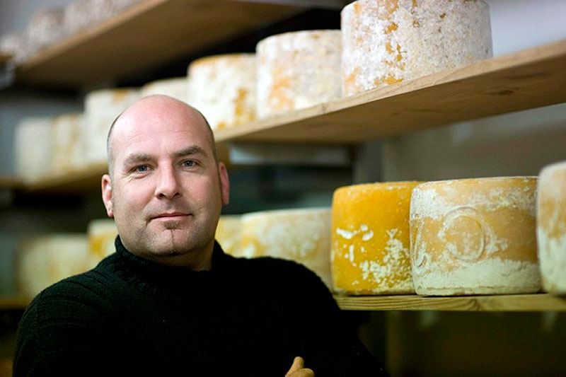 Ten years working around the world with cheese specialists sent Haddow home to set up his own pasture off the southeast coast of Tasmania.
