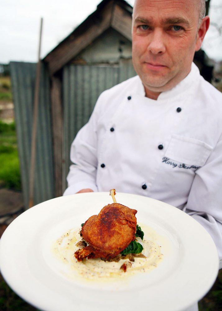 Grazing chef Tom Moore.