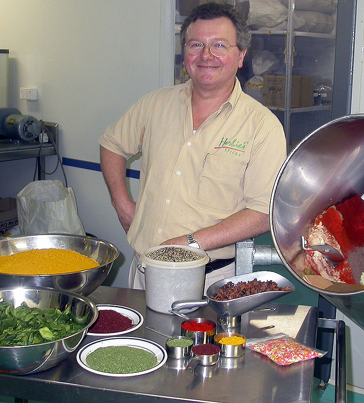 What Ian 'Herbie' Hemphill doesn't know about herbs and spices wouldn't fill the stigma of a saffron flower.